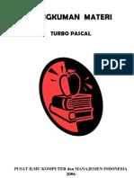 Rangkuman Materi Turbo Pascal