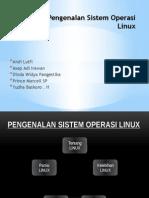 Pengenalan Sistem Operasi Linux