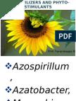 Biofertilizers and Phytostimulants
