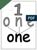 Number Words Formation