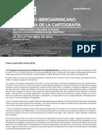 6 Simposio Iberoamericano de Historia de La Cartografia