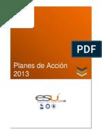 Planes de Acci on Page 2013