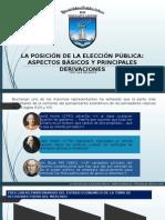 Exp La Posición de La Elección Pública