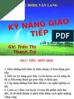 Ky Nang Giao Tiep - SV