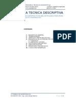 Memoria Tecnica Descriptiva SIFON VIRU