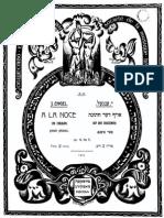 Engel a La Noce Op.19 No.5