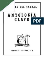 Manuel Del Cabral - Antología Clave