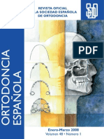 Revista de la sociedad española de ortodoncia