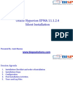 Oracle EPMA 11.1.2.4 Slient Installation