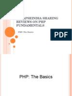 SynapseIndia Sharing Reviews on PHP Fundamentals