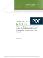 Outbound Acquisitions by India Inc