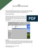 Dasar-Dasar Pemrograman Borland Delphi 6.0