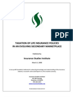 ISI_2008_Taxation of Life Insurance Policies in an Evolving Secondary Marketplace