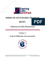 GLI-31 Electronic Raffle Systems v1.1 Spanish