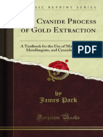 The Cyanide Process of Gold Extraction 1000740146