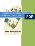 A Case on Reverse Logistics of Plilips Consumer Lifestyle