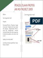 2 eBook Belajar Ms Project