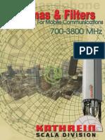 Kathrein каталог 2011