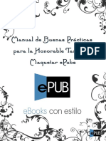 Manual de Buenas Practicas Para La Honorable Tarea de Maquetar EPubs - Werth - EPubGratis
