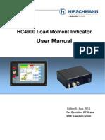 Hirschmann HC4900 Operation Manual 5-Section Boom 20140818(1)