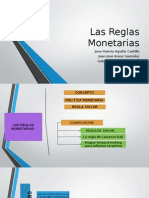 Las Reglas Monetarias