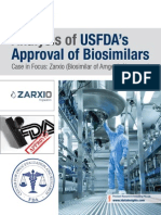Analysis of USFDA's Approval of Biosimilars