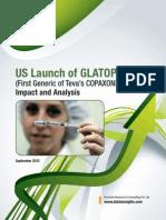 Us Launch of Glatopa