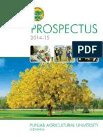 PAU Prospectus 2014-15