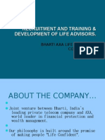 Ppt on recruitment and training