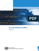 R in the Statistical Office