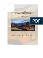 Basic Concept Farm Machinery Mechanization