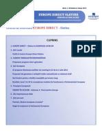 Newsletter Europedirect-Slatina Anul 1 Nr 6