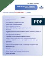 Newsletter Europedirect-Slatina Anul 1 Nr 8