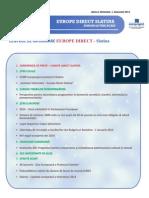 Newsletter Europedirect-Slatina Anul 2 Nr 1