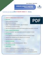 Newsletter Europedirect-Slatina Anul 2 Nr 3