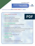 Newsletter Europedirect-Slatina Anul 2 Nr 5