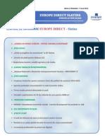 Newsletter Europedirect-Slatina Anul 2 Nr 7