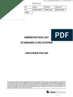 Abbrivation List 10001246905