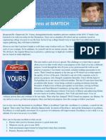 BIMTECH Orientation Address