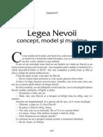 Legea Nevoii - Cele 7 Legi ale Invatarii