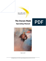The Duram Mask manual