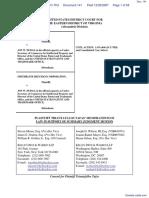 Tafas v. Dudas et al - Document No. 141