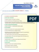 Newsletter Europedirect-Slatina Anul 3 Nr 3