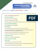 Newsletter Europedirect-Slatina Anul 3 Nr 4