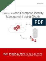 Cloud-based Enterprise Identity Management Using OAuth