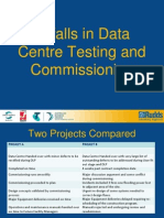 Pitfalls of Testing and Commissioning