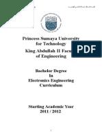 Electronics Engineering Curriculum (English)