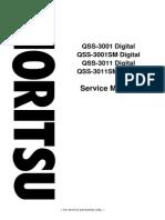 QSS3001 Service Manual