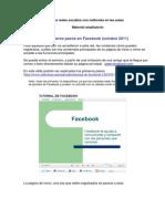 Las redes sociales con netbooks en el aula