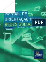 Manual Uso Redes Sociais UNINTER